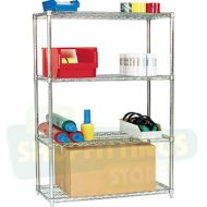 Chrome Shelving Unit - 1525mm Tall